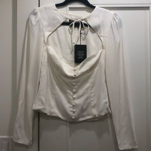 Reformation blouse